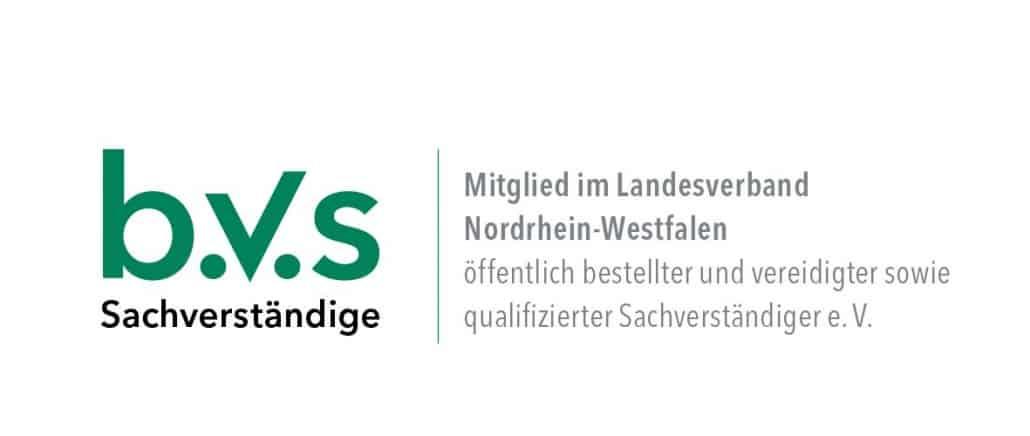 BVS-NRW_Mitglied-Sachverständiger in Düsseldorf, Duisburg, Krefeld, Ratingen, Meerbusch, Erkrath, Hilden, Langenfeld, Monheim am Rhein, Neuss, Mettmann